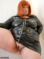 Mrs Leather. Follow Me In My PVC Up The Stairs Free Pic 7