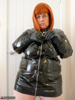 Mrs Leather. Follow Me In My PVC Up The Stairs Free Pic 8