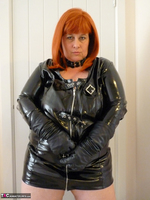 Mrs Leather. Follow Me In My PVC Up The Stairs Free Pic 9