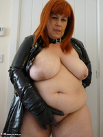 Mrs Leather. Follow Me In My PVC Up The Stairs Free Pic 17