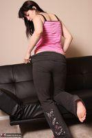 Susy Rocks. Pink Top Pt1 Free Pic 10