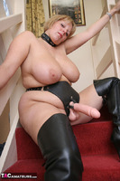 CurvyClaire. Strap-On On The Stairs Pt1 Free Pic 7