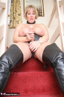 CurvyClaire. Strap-On On The Stairs Pt1 Free Pic 9