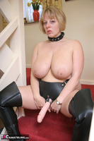 CurvyClaire. Strap-On On The Stairs Pt1 Free Pic 13