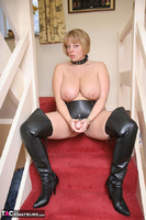 CurvyClaire. Strap-On On The Stairs Pt1 Free Pic 15