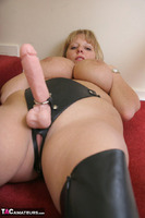 Curvy Claire. Strap-On On The Stairs Pt1 Free Pic 19