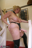 Curvy Claire. Strap-On On The Stairs Pt2 Free Pic 2
