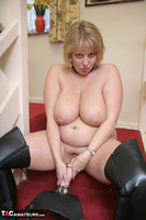 Curvy Claire. Strap-On On The Stairs Pt2 Free Pic 11
