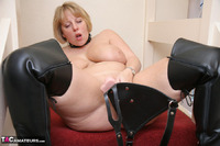 Curvy Claire. Strap-On On The Stairs Pt2 Free Pic 17