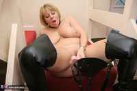 Curvy Claire. Strap-On On The Stairs Pt2 Free Pic 18