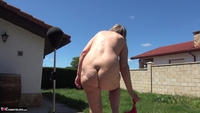 Abby Roberts. Garden Boxing and Sunbathing Free Pic 11