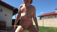 Abby Roberts. Garden Boxing and Sunbathing Free Pic 12