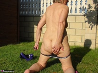 Abby Roberts. Garden Boxing and Sunbathing Free Pic 18