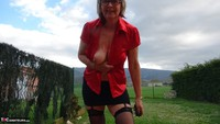 Abby Roberts. Outdoor Blouse Lust Free Pic 10