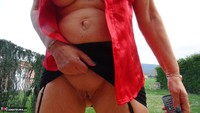 Abby Roberts. Outdoor Blouse Lust Free Pic 11
