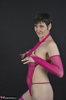 Hot Milf. Purple Net Outfit Free Pic 6