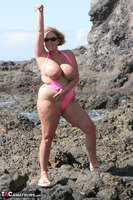 Curvy Claire. Mankini On The Rocks Pt2 Free Pic 5
