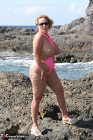 Curvy Claire. Mankini On The Rocks Pt2 Free Pic 12