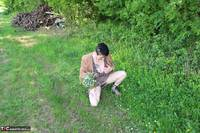 Mary Bitch. Picking Flowers In The Forest Free Pic 13