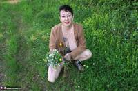 Mary Bitch. Picking Flowers In The Forest Free Pic 14