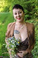 Mary Bitch. Picking Flowers In The Forest Free Pic 16