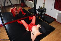 Mary Bitch. Red Latex Free Pic 4