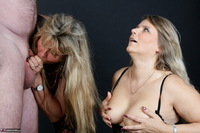 Sweet Susi. Three Some Cock Milking At The Photo Shoot Free Pic 16