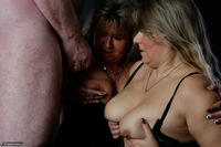 Sweet Susi. Three Some Cock Milking At The Photo Shoot Free Pic 19