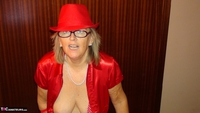 Abby Roberts. Red Devil & Glass Dildo Free Pic 10