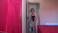 Abby Roberts. Cleaning & Wanking Free Pic 1