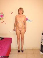Abby Roberts. Body Nylons & Standup Posing Free Pic 10