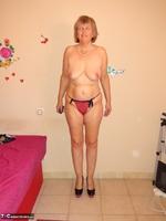 Abby Roberts. Body Nylons & Standup Posing Free Pic 12