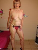 Abby Roberts. Body Nylons & Standup Posing Free Pic 13