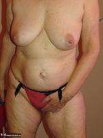 Abby Roberts. Body Nylons & Standup Posing Free Pic 14