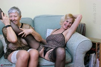 . Savana & Molly In The Lounge Free Pic 5