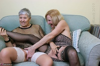 . Savana & Molly In The Lounge Free Pic 7