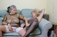 . Savana & Molly In The Lounge Free Pic 8