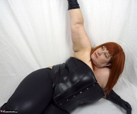 Mrs Leather. My Leather Pants Come Off Free Pic 8