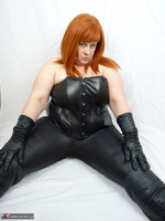 Mrs Leather. My Leather Pants Come Off Free Pic 10