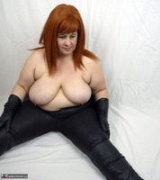 Mrs Leather. My Leather Pants Come Off Free Pic 14