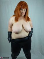 Mrs Leather. My Leather Pants Come Off Free Pic 16