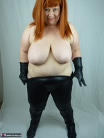 Mrs Leather. My Leather Pants Come Off Free Pic 17