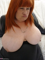 Mrs Leather. Wearing My Leather Slut Dress Free Pic 10