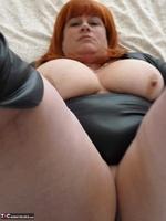 Mrs Leather. Wearing My Leather Slut Dress Free Pic 11