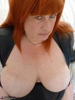 Mrs Leather. Wearing My Leather Slut Dress Free Pic 15