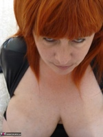 Mrs Leather. Wearing My Leather Slut Dress Free Pic 18