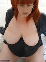 Mrs Leather. Wearing My Leather Slut Dress Free Pic 20
