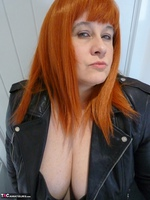 Mrs Leather. Leather Rock Chick Pt1 Free Pic 2
