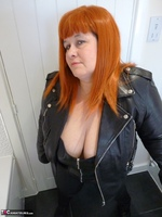 Mrs Leather. Leather Rock Chick Pt1 Free Pic 3