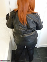 Mrs Leather. Leather Rock Chick Pt1 Free Pic 5